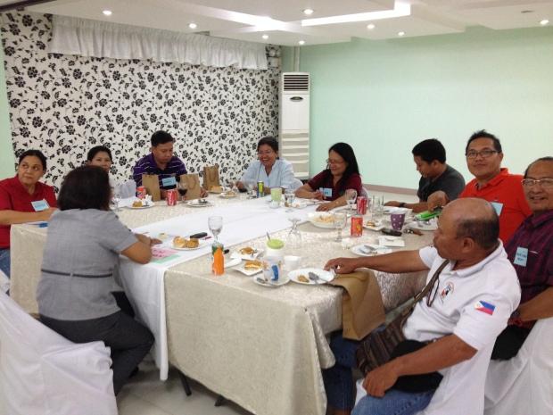 Bohol CSO Representatives during the FGD.